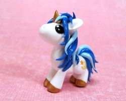 Custom Moon and Star Pony by DragonsAndBeasties