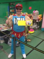 Duffman 'Wigan Comic-Con 3' by extraphotos