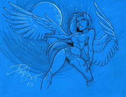 Feathers and White Pens 2 by dawnbest