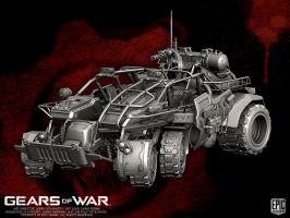 Gears of War Junker by YemYam