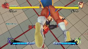 Super Street Fighter 4 Chun Li vs Hakan by Themilkguy