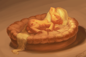 My Little Apple Pie by AssasinMonkey