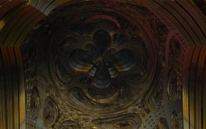 Mandelbulb gold metal by calciumpill