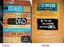 Fathers Day Card by Alianna013