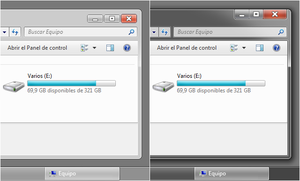 Windows Aero Gray 7.2 by leosss