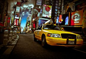 New York City taxi by SafuanStyx