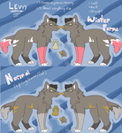 Levvy Reference Sheet by coffaefox