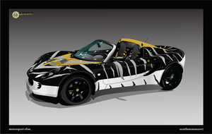 Lotus Elise Self-Challenge by DarkObliveon