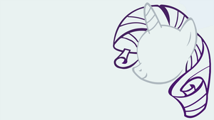 Minimalistic Rarity Wallpaper by MrFugums