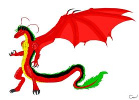 American Dragon DH ITE Style by Vakama3
