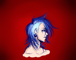 Blue Sidehawk by Saaiie