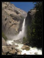 Lower Yosemite Falls by Crooty