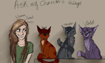 ask my characters things by ScoutTheCat