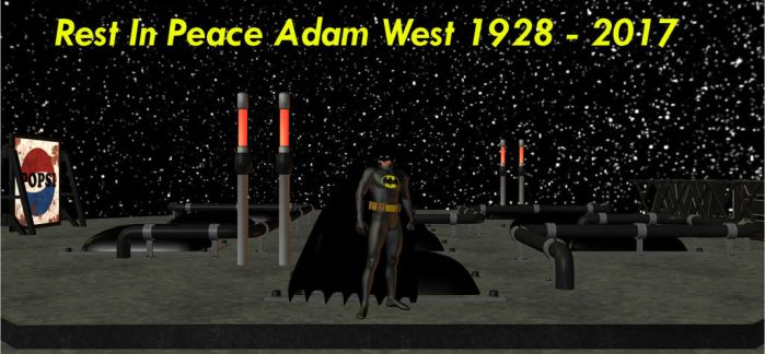 Rest In Peace Adam West by HectorNY