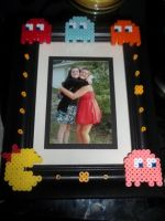 Mrs. Pacman Frame by Libbyseay