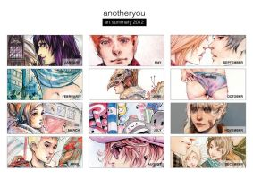 Art Summary 2012 by anotheryou