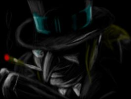 Noir Penguin by Nobunaga1981