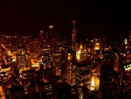 The Second City By Night by RaCzarina