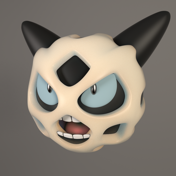 Glalie 3d Open Mouth by GexANIMATOR