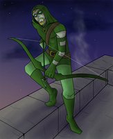 The Green Arrow by blueToaster