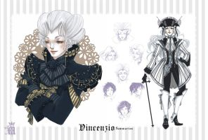 Character Sheet - Vincenzio by m-aruka