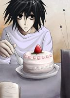 Death Note: Cake? by kaekaa