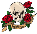 Skulls and Roses by RainbowPlatypus
