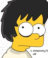 Edit : L simpson XD by tammi13