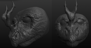 another head in Sculptris by ivygaara