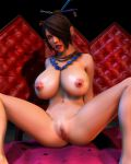 23012  Lulu Red room by 3dbabes