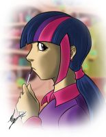Brony time - Twilight Sparkle by SycrosD4