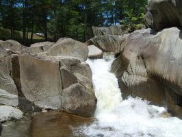 Falls in byron Me. by ssg-McGary