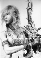 WIP Lightning Final Fantasy XIII by bite-size-fox