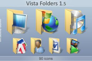 Vista Folders 1.5 by monolistic