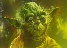 Master Yoda by JeffLafferty