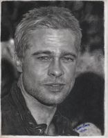 Brad Pitt by LaPicher