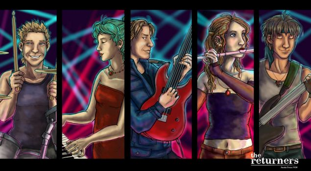 The Returners - Video Game Rock Band! by selie