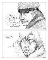 MGS: 'Otacon...' by jacmac