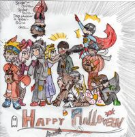 .:Naruto Halloween:. by Rairox64