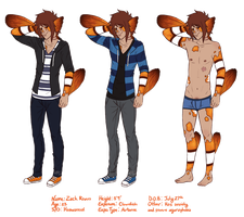 Zack (new ref) by Mouseleaf