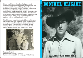 Boothill Brigade DVD cover by Black-Battlecat