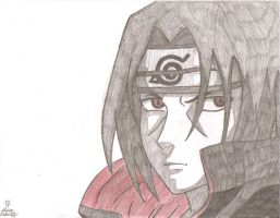 Itachi Uchiha by AnimePortraits