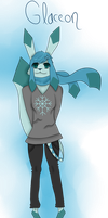 Glaceon Anthro version by Almost-Toxic