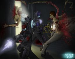 Dead Space - Cleaning up by AzureChris