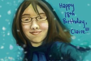 Happy 18th, Claire by Villacious