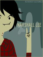 Marshall Lee by retro-vertigo