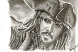 Captain Jack Sparrow by o0Nanao0o