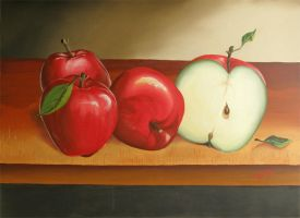 Apples by GabrielHerrera