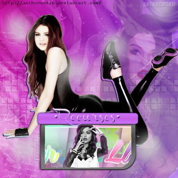 +Recursos Para Portada Cher Lloyd By AnthoCookie- by AnthoCookie
