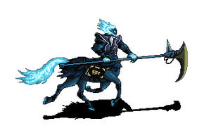 Hecarim - The shadow of war (Pixel) by wonman321